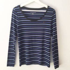 Tommy Hilfiger Striped Long Sleeve Top ▪️